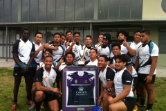 Sports Academy - Senior Boys GIO Trophy Cup Winners