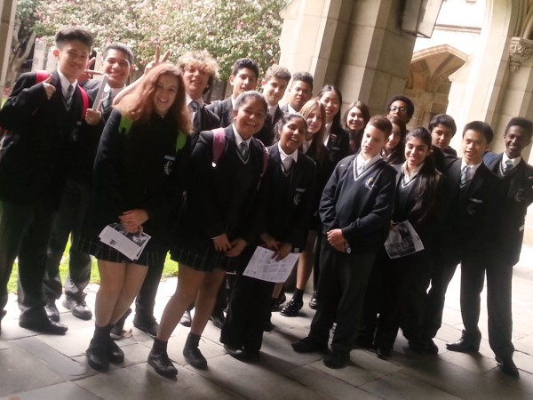AVID Year 9 at Melbourne University